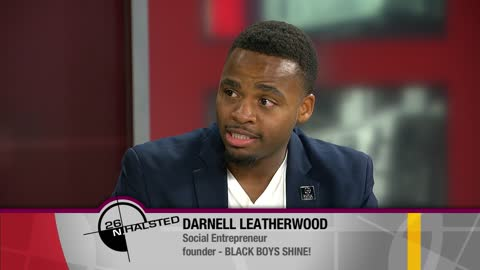Darnell Leatherwood, co-founder of BLACK BOYS SHINE!, has dedicated himself to public service and the uplifting of self-esteem for black boys and men.