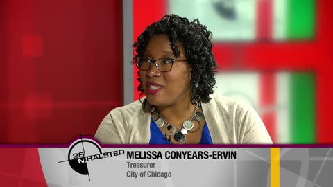 Chicago City Treasurer Melissa Conyears-Ervin
