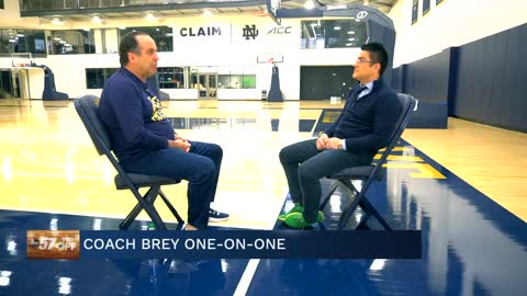 1-on-1 with Head Coach Mike Brey