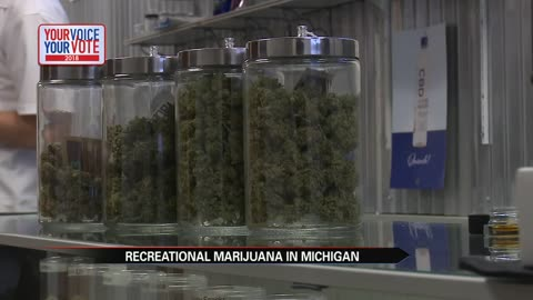 Voters approve recreational marijuana in Michigan