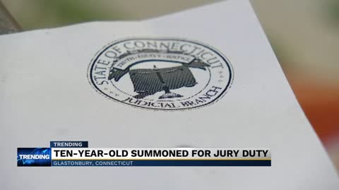 10-year-old gets called for jury duty