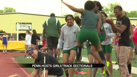 Girls track sectional titles earned around Indiana