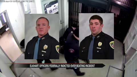"Community reacts to federal indictment of Elkhart officers: ""The..."