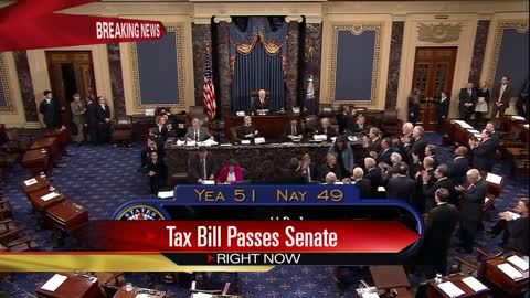 Senate passes sweeping GOP tax plan in early hours of Saturday morning