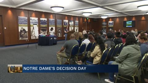 First-generation college students celebrated at Decision Day...