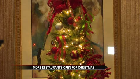 25 area restaurants opening doors for holiday