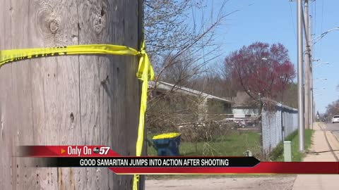 Bystander helps West Jefferson Apartment shooting victim