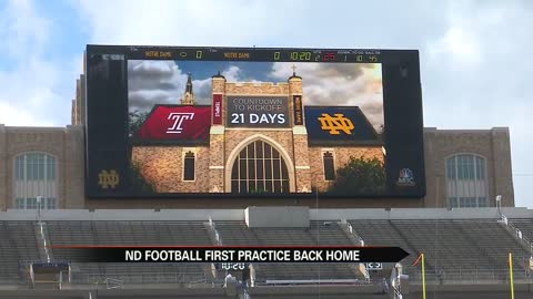 Notre Dame Football: With 3 weeks until Temple, Irish are preaching laser focus