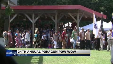 34th Annual Pokagon Pow Wow takes place this weekend
