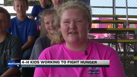 4-H youth fight food insecurity in Michiana