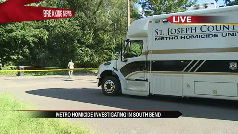 5 30 pm metro homicide unit conducting investigation in south bend