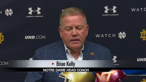 5 pm brian kelly press conference