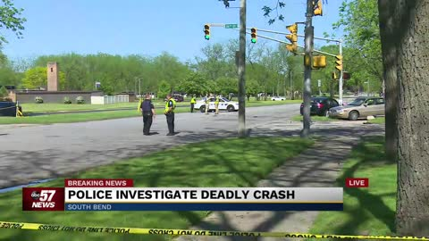5 p.m.: Deadly crash in South Bend at Jefferson and 26th