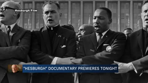 Documentary about Father Hesburgh opens Friday