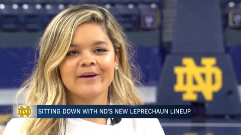 Meet Notre Dame's newest leprechauns