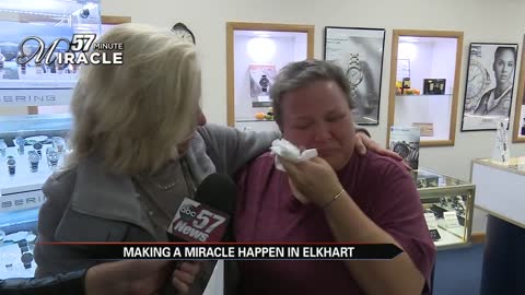 57 Minute Miracle surprises a single grandma in Elkhart