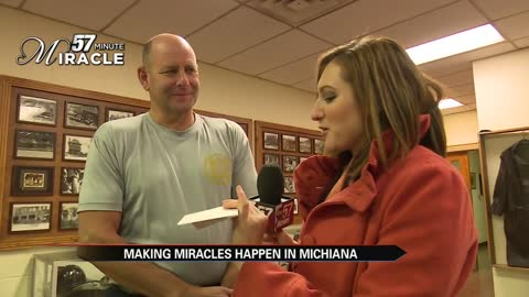 57 minute miracle in elkhart meeting the miracle maker