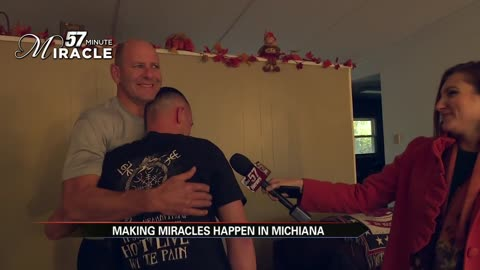 57 minute miracle pays a visit to the elkhart fire department