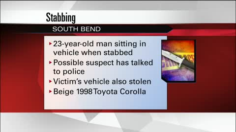 Victim taken to hospital after a stabbing in South Bend