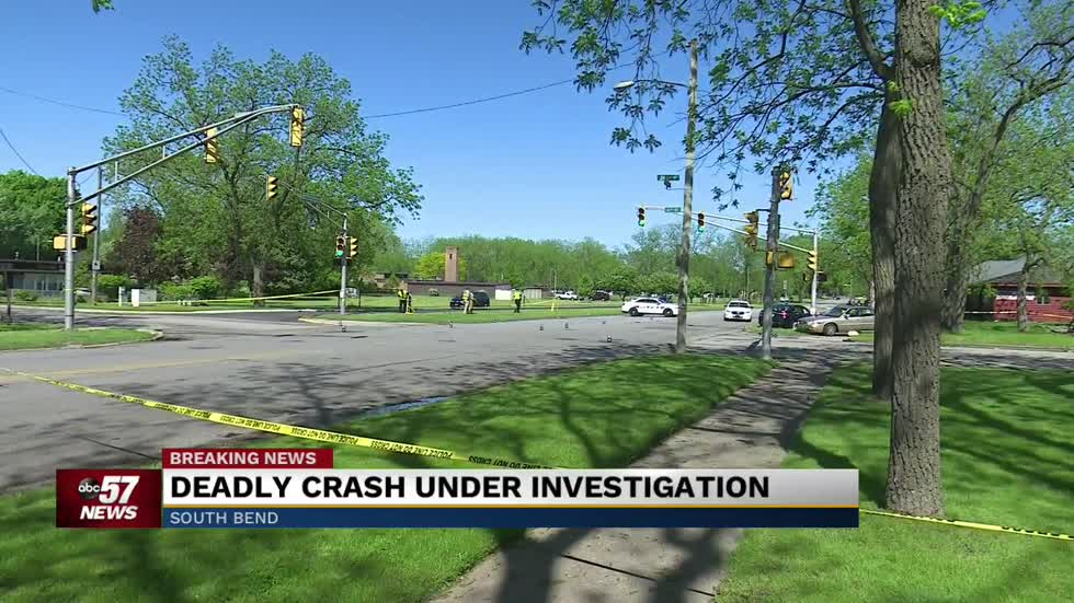 Jefferson and S  26th in South Bend reopens following fatal crash