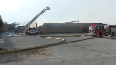 6 p.m. Forest River plant 59 destroyed by fire