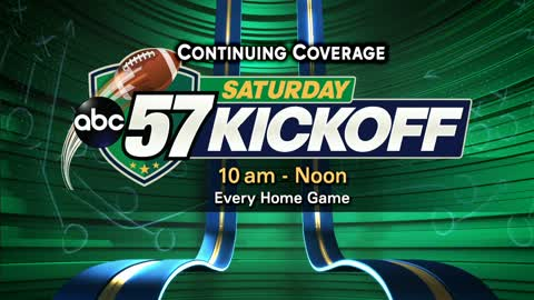 6 pm preview of this weeks abc57 saturday kickoff