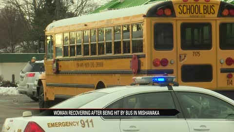 Woman hit by PHM school bus in Mishawaka