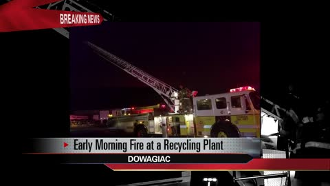 Fire reported at a metal recycling business in Dowagiac