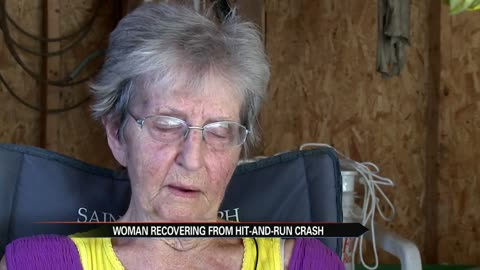 85-year-old woman sent to hospital after hit-and-run, wants driver to come forward