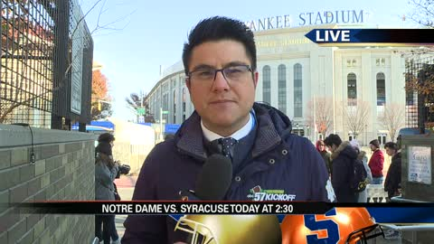 Preview of Notre Dame vs. Syracuse at Yankee Stadium