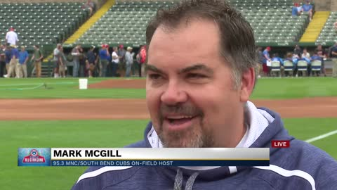 95.3 MNC's Mark McGill hosts 2019 Fan Fest, Home Run Derby