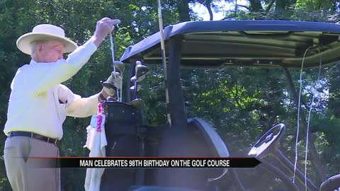 Elkhart man continues golfing tradition on 98th birthday