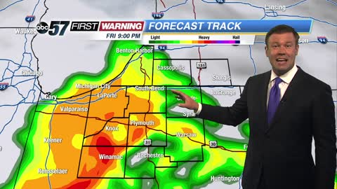Mostly dry but dodging storms this weekend