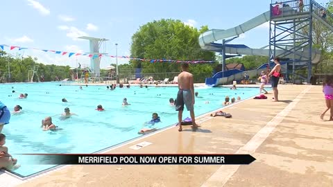 Merrifield Pool officially opens for Summer