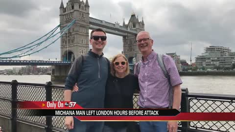 Mishawaka man in England reacts after London attack