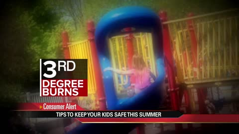 Splash pad dangers: Safety tips for your kids this summer
