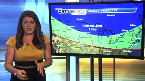 Northern lights could be seen in Michiana Friday night.
