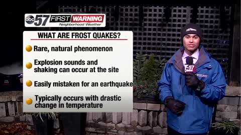 "Did a ""frost quake"" hit Michiana?"