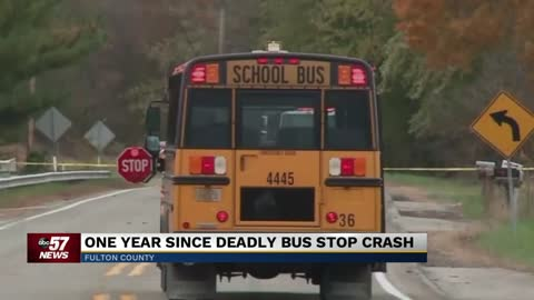 A look back at safety, a year after the fatal school bus stop crash in Fulton County