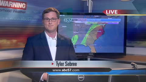 3-day severe weather outbreak begins today; strong storms possible...