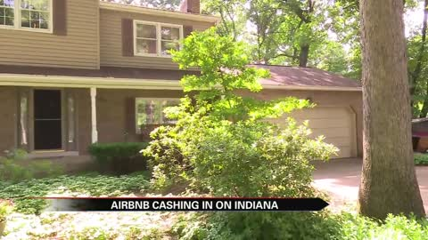 Airbnb booms in rural Indiana