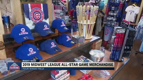 All-Star Game merchandise, extended hours at South Bend Cubs...