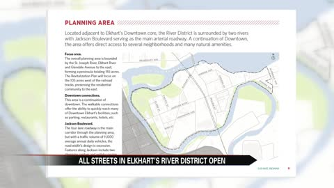All streets now open in downtown Elkhart's River District