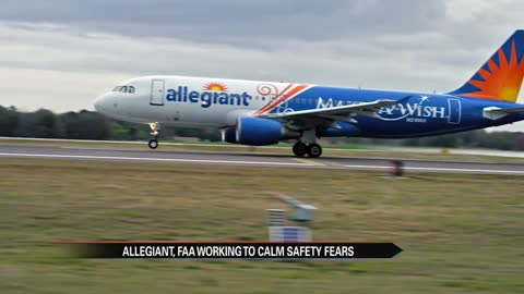 Allegiant and FAA trying to calm fears after '60 Minutes' report