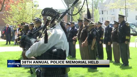 National Peace Officers Memorial held in Berrien County
