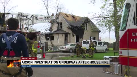 One person arrested in Elkhart arson investigation
