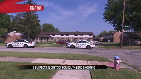 One victim shot, two detained after South Bend shooting