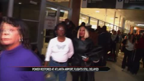 Atlanta airport power outage affects travel Monday