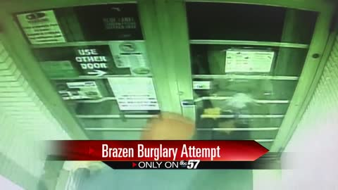 Criminals attempt break-in at South Bend gun shop