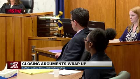 Attorneys present closing arguments for Kemia Hassel trial